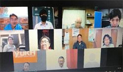 県南支部9月WEB例会写真