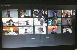 鹿沼・日光支部6月例会 WEB参加者写真