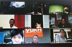 県南支部6月例会 WEB参加者写真