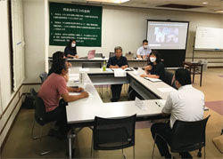 鹿沼・日光支部ハイブリット例会開催写真1