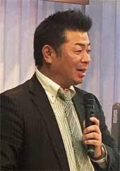 佐藤氏 新春講演会での講演